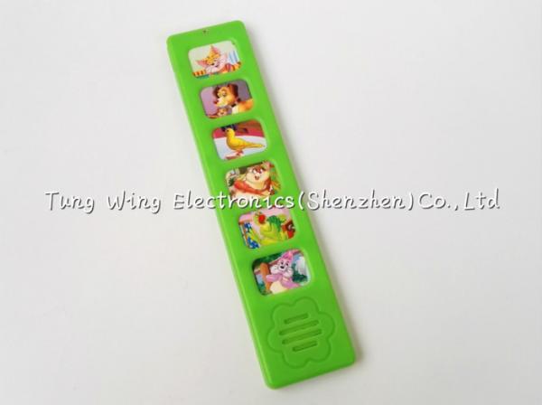Quality Six Childrens Push Button Sound Module Soundbooks Module Replaceable Battery for sale