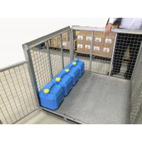 China Metal Box IBC Metal Cage Steel Storage Container Ibc Steel Pallet Cage on sale