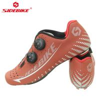 China OEM / ODM SPD Indoor Cycling Shoes , Road Cycling Boots Carbon Fiber Outsole wholesale