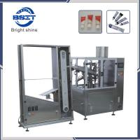China Hot Sale Toothpaste/Cream/Food  soft Tube/Hose/Pipe Filling Sealing Machine with CE wholesale