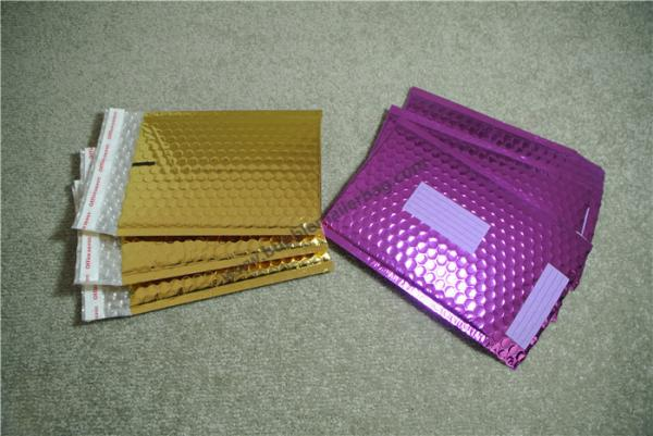 Quality Lap Seal Metallic Mailing Envelopes , Coloured Padded Envelopes 235x330mm #H for sale