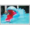 China Industrial small amusement raft rides , fiberglass pool slide for Kids Water Park wholesale