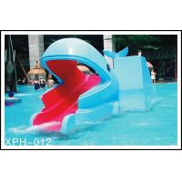 China Outside Water Pool Slides Water Park Whales Cartoon Shape Kids Pool Water Slides for Kids Water Park wholesale
