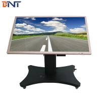 China used in horizontal design suitable 46-75 inch  touch all in one machine tv mobile cart wholesale