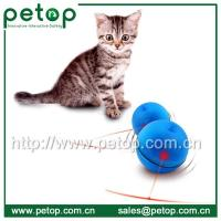 China Funny Christmas Gift Interactive Cat Toy, LED Cat Ball on sale