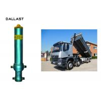 Buy cheap OEM/ODM With Piston Rod Single Acting Dump Truck Hydraulic Oil Cylinder from wholesalers