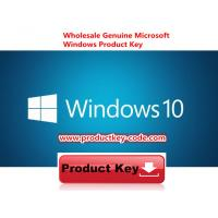Buy cheap Microsoft Windows 10 Product Key Codes Download Online Activate Key 32 64bit from wholesalers