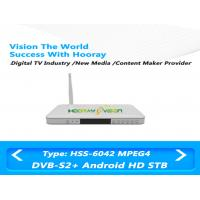 China White Digital TV DVB S2 Set Top Box IPTV HD 75ohm 1.5-45 MSPS Symbol rate wholesale