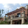 Buy cheap plastic wood balcony pergola,customized size pergola for your balcony from wholesalers