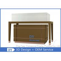 China High End Glass Jewellery Showcase / Jewelry Counter Furniture wholesale