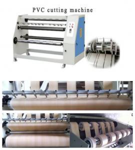 China PVC foil slitting machine woodworking machinery on sale