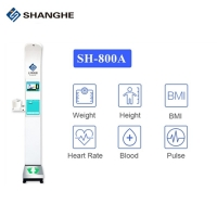 China Height And Weight Bmi Body Scale Blood Pressure Vending Machine wholesale