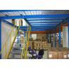 China Pisos de entresuelo industriales del almacenamiento del acero Q235con el ² de la placa de acero los 500kg/M wholesale