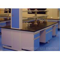 Buy cheap Suspended Structure Modular School Science Laboratory Furniture With Gas Fittings from wholesalers