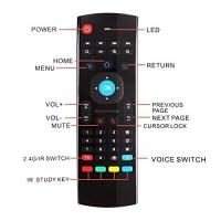 China 3 - Gyro Sensor Infrared Keyboard And Mouse With Voice Search Function wholesale