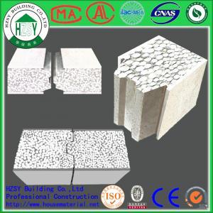 China HZSY 100mm Building Precast Concrete Wall Panels , Internal External precast wall panels wholesale