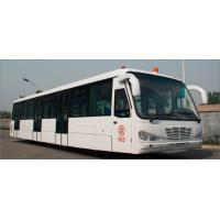 Low Carbon Alloy Steel Body Airport Transfer Bus Airport Coaches 5100mm Wheel Base