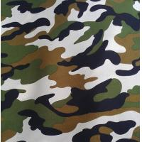 China Polyester / Cotton Material and Make-to-Order Supply Type fabric with military print on sale