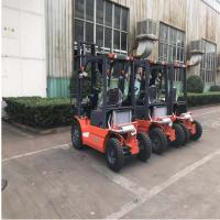 China Pneumatic Tires Diesel Forklift Truck 3000mm Lift Height Automatic Transmission on sale