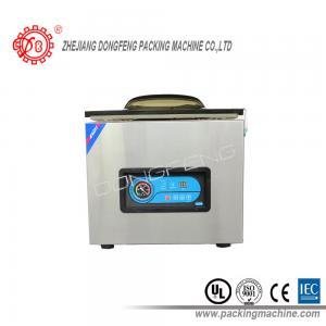China A selagem dobro conduzida elétrica do vácuo da barra da selagem da máquina automática do acondicionamento de alimentos faz à máquina DZ-400B wholesale