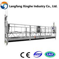 China suspended platform lift/eonstruction swing stage/ suspended access equipment wholesale