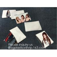 China Canvas Pencil Bag Factory Student Creative Canvas Stationery Bag Korean Version Girls