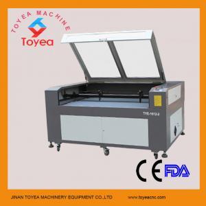 China Dual heads CO2 Laser Cutting machine for acrylic TYE-1612-2 wholesale