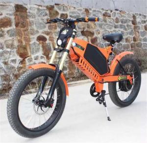 China 72V 3000W 29AH electric mountain bike, sport mountain ebike for young wholesale