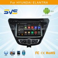 China Android 4.4 car dvd player GPS navigation for Hyundai Elantra 2014 2015 double din radio on sale