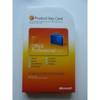 China Microsoft Office 2010 Product Key Card For Microsoft Office Professional 2010 wholesale