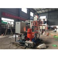 China HDPE LDPE Plastic Blown Film Machine 45mm Screw Diameter Improved Production Capacity wholesale