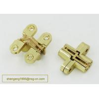 Buy cheap 180 Degree 44 Mm Zinc Alloy Firm Furniture Wooden Box Hidden Hinge Easily Installed from wholesalers