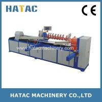 China Automatic Industrial Paper Core Cutting Machine,Cardboard Craft Tubes Forming Machinery,ATM Paper Core Making Machine wholesale
