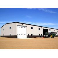 China Long Lifespan Fireproof Steel Warehouse Construction With Auto Roller Shutter Door wholesale