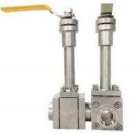 China Professional Cryogenic Industrial Ball Valve SS304 Manual Low Temperature on sale