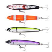 Popular woode lure--CHWGT15 wood material wooden bait pencil lure trolling lure