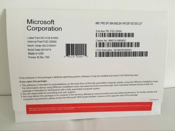 Quality English Language Windows 10 Pro Key Code Full Version Microsoft Certified for sale