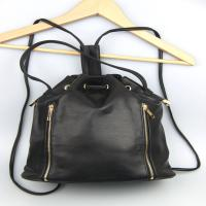 China Black PU Backback  Guangzhou bags Agent kongkong buying agent bags agent on sale