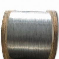 China Galvanized Steel Wire for ACSR, with 1.0 to 6.0mm Diameter wholesale