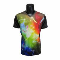China Stretchable Short Sleeve Running Shirt , Running Sportswear All Sizes Available wholesale