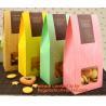 Customize Translucent Window, Brown Greaseproof Kraft Paper Bag, Special Opp Window Bag, window bags, paper window bags,