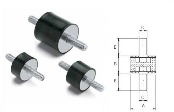 Industrial dampers images for Vibration dampening motor mounts