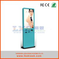 China 46 '' Floor Standing Touch Interactive LCD Kiosk With  TIicket  Vending wholesale