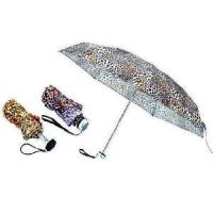 China Leopard Print 3 Folding Umbrella wholesale
