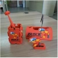 China Personalized Soft PVC Cell Phone Holder With Pen Holder For Office Desktop Accessories wholesale