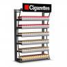 China Meuble de rangement large moderne de cigarette de présentoir de cigarette complètement soudé wholesale