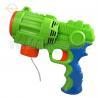 China Large Motorized Light Up Bubble Blaster Plastic Bubble Gun For Toddlers wholesale