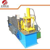 China Metal Profile U Channel Roll Forming Machine For Shutter Door Track on sale
