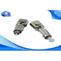 China FTTH FC SC LC ST SM/MM RoHS Square Bare Fiber Optical Cable Adapter < 0.2DB wholesale