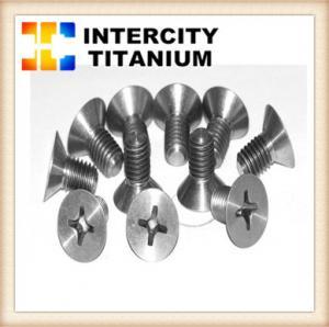 China China titanium fastener manufacture DIN912/DIN933/DIN934 for GR2 titanium bolt/titanium screw wholesale